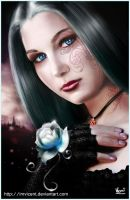 The Rose's Enchantment_final by ImVicent
