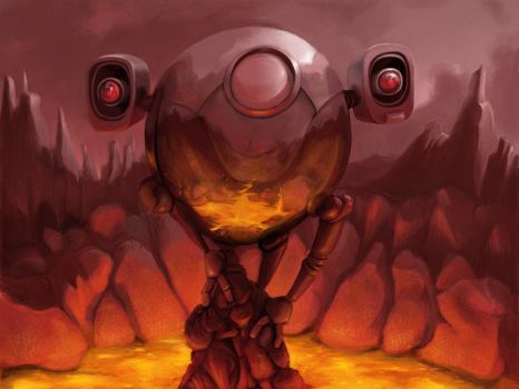 Full Metal Ball 3: Fuego by Pegnose