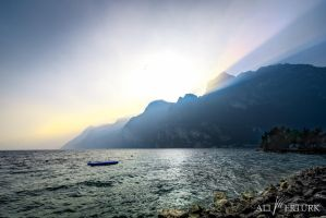 Lake Garda, Italy, silence by alierturk