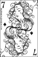 7 of spades by vasodelirium