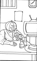 Crossover Comicproject: Pumpkinator by Deathnaut95