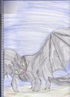 Toothless by EnderDragon24