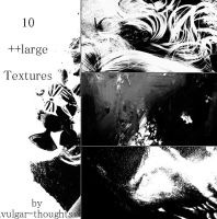 10 ++large Textures by vulgar-thoughts