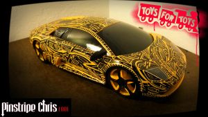 Sharpie Lamborghini Toys For Tots Donation by PinstripeChris