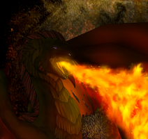 The Flame of the Fire Dragon by secretsnowdragon9999