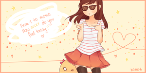 ducky-chan:: by momopu