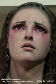 Madonna crying 03 by diablana81