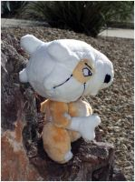 Cubone Plush by Patchwork-Shark