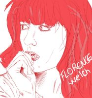 Florence Welch by AneRainey