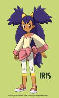 Pokemon's Iris by iq40