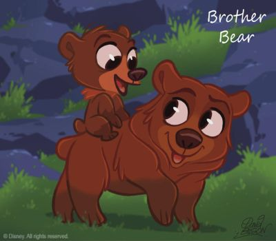 50 Chibis Disney: Brother Bear by princekido