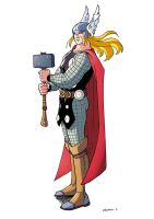 Thor by CROMOU