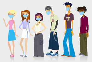 6teen Cast by Juliefan21