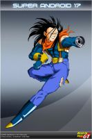 Dragon Ball GT - Super A17 by DBCProject