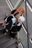 Matsumoto and Hitsugaya I by SasukeRoxMySox2