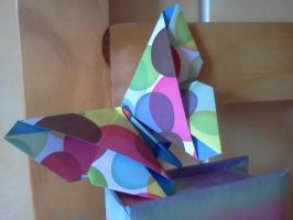 Origami : butterfly by Coqkie