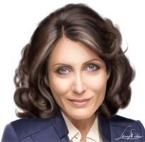 Dr. Lisa Cuddy by Lagoonnw