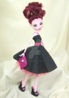 Custom Draculaura Monster High Doll by DarkEyedDeviant