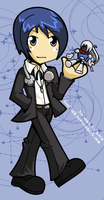 Persona 3 Hero by desfunk