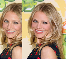 Retouch Cameron Diaz by xaide89