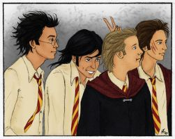 The Marauders by Mar17swgirl