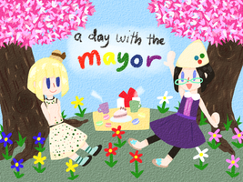 Animal Crossing: A day with the MAYOR by se-rah