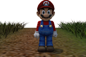 Mario High Qaulity by The--Grimreaper