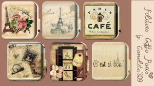 Folders Coffe Paris by SriitaDeWatt