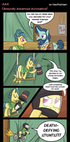 MLP: A.A.A. (Absurdly Advanced Acrobatics) by PacificGreen