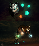 FX Sketch Round: All of the lights... by Domisea