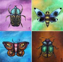 Insect Paintings by bryancollins
