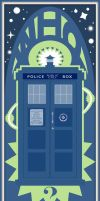 TARDIS Nouveau by SciFiSmartass