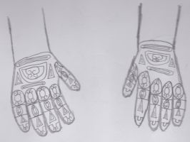 Armoured Gloves by Sean188