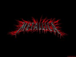 Red Electric Metallica by Rayfire