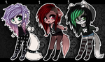 Adoptables - CLOSED by miss-mixi