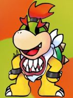 The heir to King Bowser by ArtisticIntern
