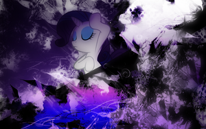 Rarity Lost in Style Wallpaper by EnemyD