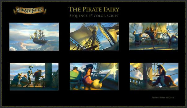 Disney Sequence Color Script 3 by NathanFowkesArt