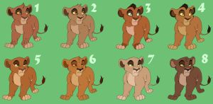 Another New Set Of Cub Adoptables CLOSED by Xanxor