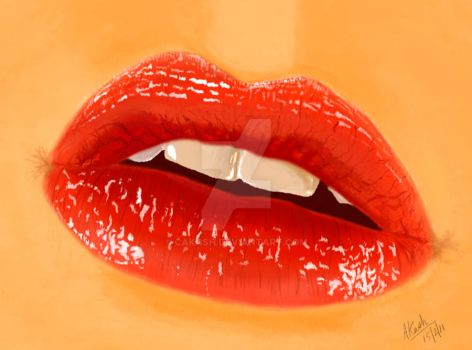 Lips by cakash