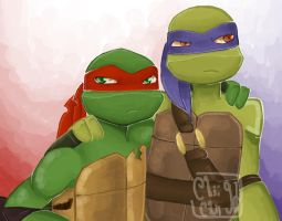 Raph and Don by ChiiChii97