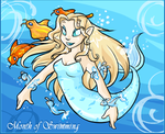 The Month of Swimming by Kuitsuku