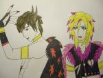 Gackt and Yohio Fantasyworld format by FantasyWorld24