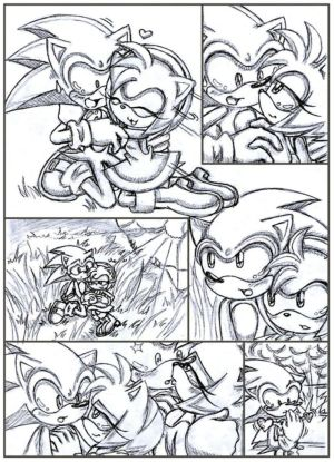 Sonic+and+amy+love