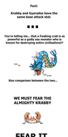 Krabby the Destroyer by Tayzonrai