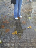 Puddle jumping by Morphinelips89