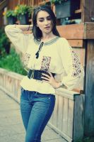Romanian blouse by simonamoon