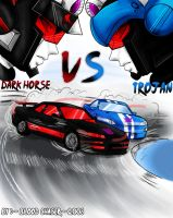 DarkHorse Vs Trojan_Racing1 by BloodyChaser