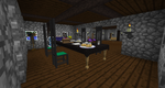Minecraft modded- My Dining Room View 2 by shadowolf1004