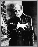 Lon Chaney Silver by HalloweenMAGE